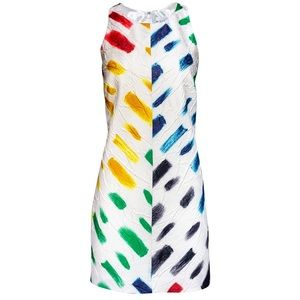 NEW Milly Paint strokes dress - Size 0